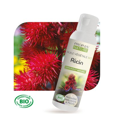Virgin organic castor oil - PROPOS NATURE - Diy ingredients