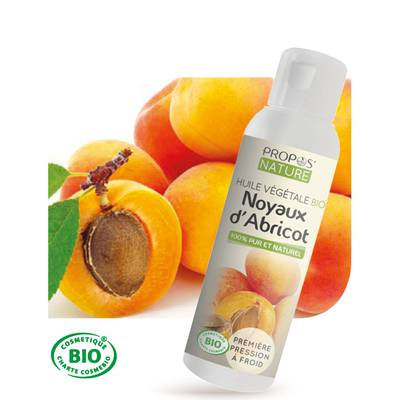 Organic Virgin apricot kernel oil - PROPOS NATURE - Diy ingredients