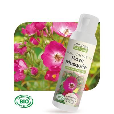 Huile végétale Rose Musquée Bio - PROPOS NATURE - Ingrédients diy