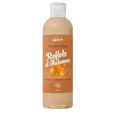 Shampooing Reflets d'Automne - Cheveux châtains à bruns - Direct Nature - Cheveux