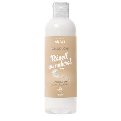Gel Douche Réveil au Naturel - Sans Parfum & Sans Colorant - Direct Nature - Hygiene