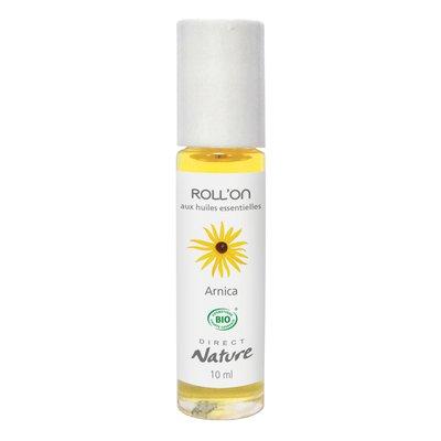 Roll'On aux Huiles Essentielles - Arnica - Direct Nature - Santé - Massage et détente