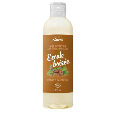 Gel Douche Escale Boisée - Cèdre & Patchouli - Direct Nature - Hygiène