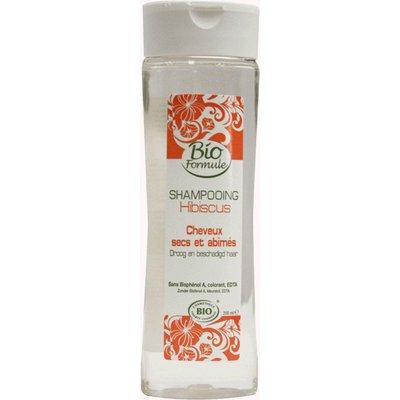 Shampooing Cheveux secs et abîmés - Hibiscus - Bioformule - Cheveux