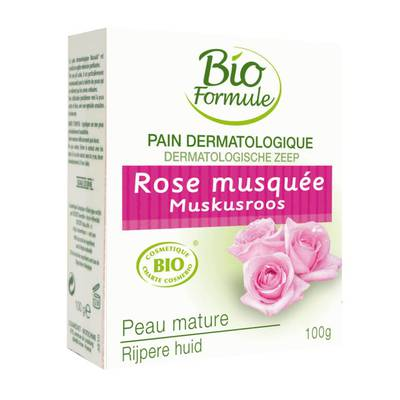 Dermatological soap - rose - Bioformule - Hygiene