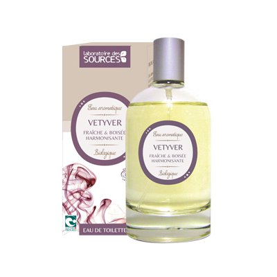 Eau de Toilette Vetyver - Laboratoire des Sources - Parfums et eaux de toilette