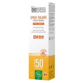 Spray solaire Spécial enfants SPF50 - Bioregena - Solaires
