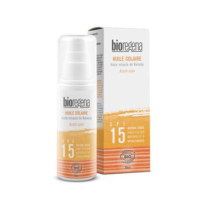 SUNSCREEN OIL SPF 15 - Bioregena - Sun