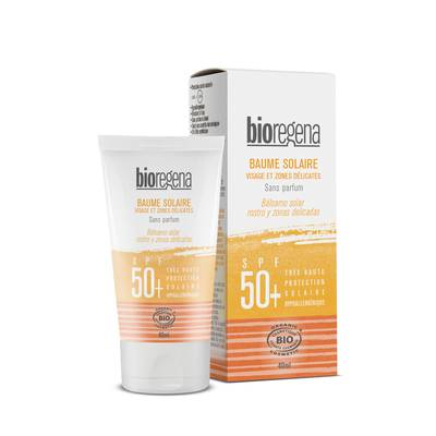 SUNSCREEN BALM SPF 50+ FACE AND SENSITIVE AREAS - Bioregena - Sun