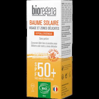 Baume visage SPF50+ - Bioregena - Solaires