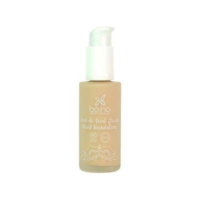 FOND DE TEINT FLUIDE 01 PORCELAINE - Boho Green Make-up - Maquillage