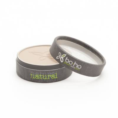Poudre compacte beige clair 02 - Boho Green Make-up - Maquillage