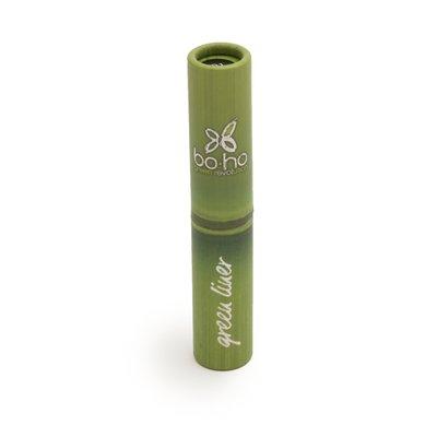 Green liner noir 01 - Boho Green Make-up - Maquillage