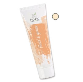 """Fond de teint fluide """"FLUID & GREEN""""  beige doré 04 - Boho Green Make-up - Maquillage"""