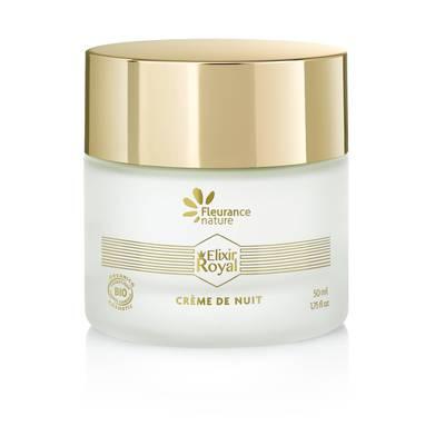 Crème réconfortante anti-rides Nuit - Elixir Royal - Fleurance Nature - Face