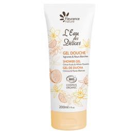 Gel douche Eau des délices Agrumes et Fleurs blanches - Fleurance Nature - Hygiene