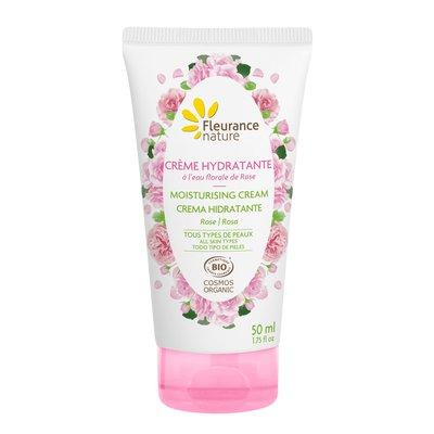 Crème hydratante à la rose - Fleurance Nature - Visage