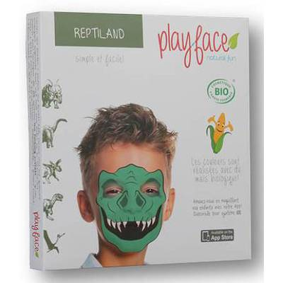 Reptiland grimage - Play-Face - Maquillage