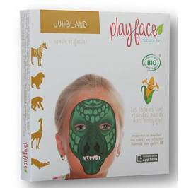 Jungland grimage - Play-Face - Maquillage