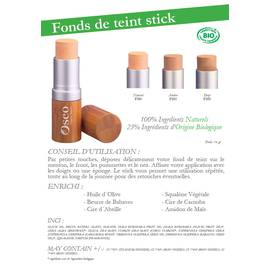 Fonds de teint stick - Oseo Organic Beauty - Maquillage