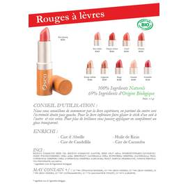 Rouges à lèvres - Oseo Organic Beauty - Maquillage