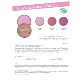 Blush - Oseo Organic Beauty - Make-Up