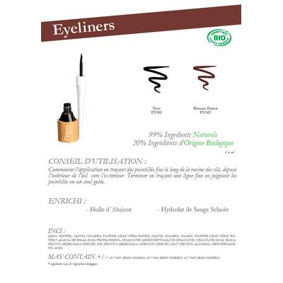 Eyeliner - Oseo Organic Beauty - Maquillage