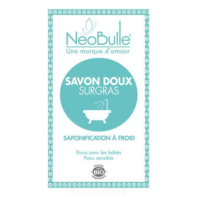 Savon Doux Surgras - neobulle - Hygiène - Bébé / Enfants