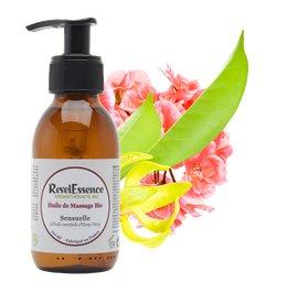 Huile de Massage Bio - Sensuelle - Revelessence - Massage and relaxation