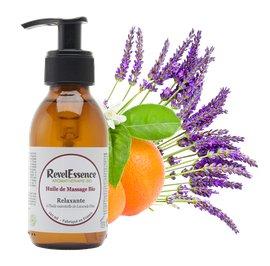 Huile de Massage Bio - Relaxante - Revelessence - Massage and relaxation