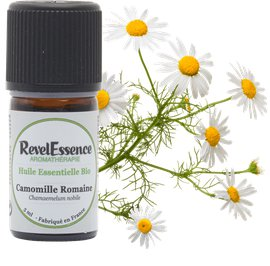 Huile Essentielle Bio Camomille - Revelessence - Massage and relaxation