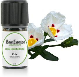 Huile Essentielle Bio Ciste - Revelessence - Massage and relaxation