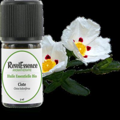 Huile Essentielle Bio Ciste - Revelessence - Massage et détente