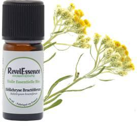 Huile Essentielle Bio Hélichryse Bractéiferum - Revelessence - Massage et détente