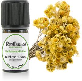 Huile Essentielle Bio Hélichryse Italienne - Revelessence - Massage and relaxation