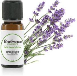 Huile Essentielle Bio Lavande Aspic - Revelessence - Massage and relaxation