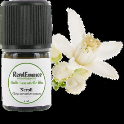 Huile Essentielle Bio Néroli - Revelessence - Massage et détente