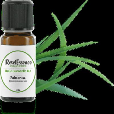 Huile Essentielle Bio Palmarosa - Revelessence - Massage et détente