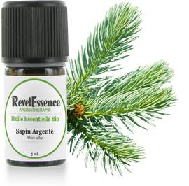 Huile Essentielle Bio Sapin Argenté - Revelessence - Massage and relaxation