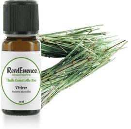 Huile Essentielle Bio Vétiver - Revelessence - Massage et détente