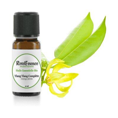 Huile Essentielle Ylang-Ylang complète - Revelessence - Massage et détente
