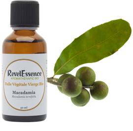 Huile Végétale Macadamia - Revelessence - Massage and relaxation