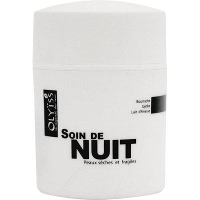 Soin de nuit hydratant anti-âge Bourrache - Olyiss - Visage