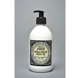 French Milled Liquid Soap Olive Oil 500ml adn 1L - La Manufacture en Provence - Hygiene