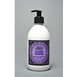 image produit French milled liquid soap lavender 500ml and 1l