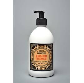 French Milled Liquid Soap Mandarin 500ml and 1L - La Manufacture en Provence - Hygiene