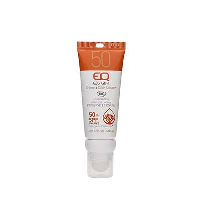 Combi Stick Crème SPF 50+ et SPF 50 - EQ - Solaires