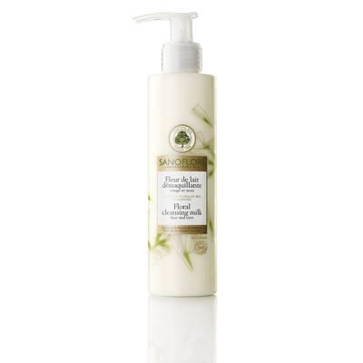 Floral cleansing milk  - Sanoflore - Face