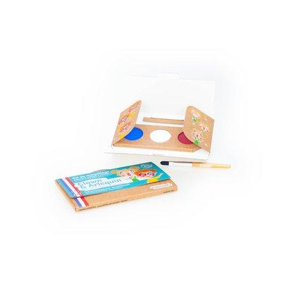 "Kit de maquillage 3 couleurs ""Clown & Arlequin"" - Namaki - Maquillage"