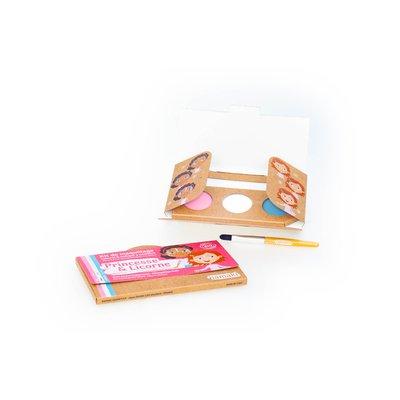 "Kit de maquillage 3 couleurs ""Princesse & Licorne"" - Namaki - Maquillage"
